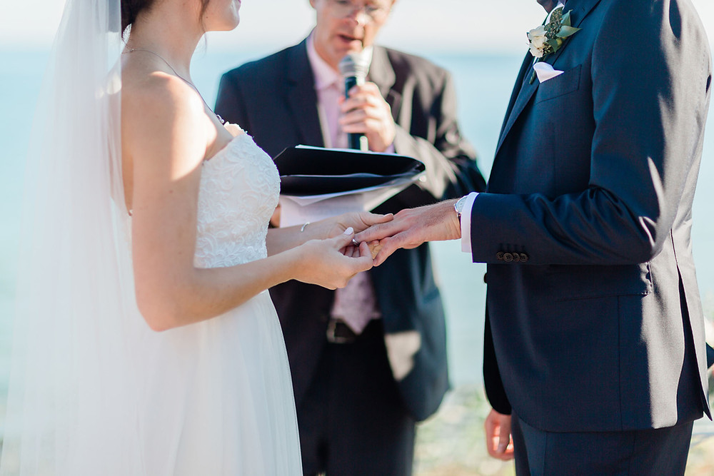 vineyard ceremony wedding photography huff estates winery