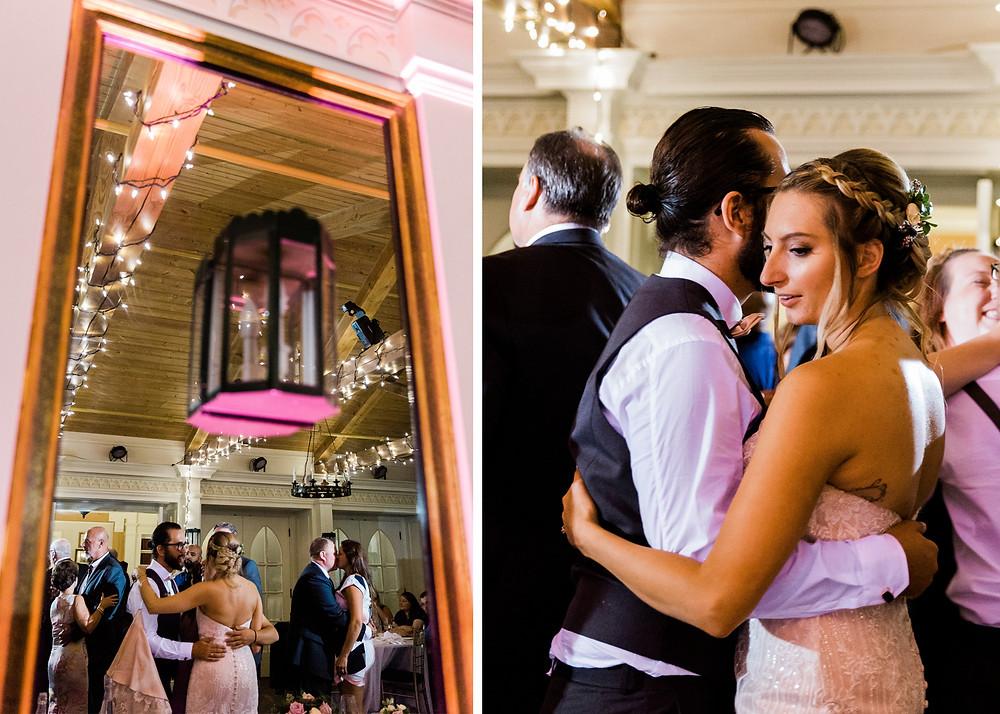 doctors house wedding garden room dj dancefloor