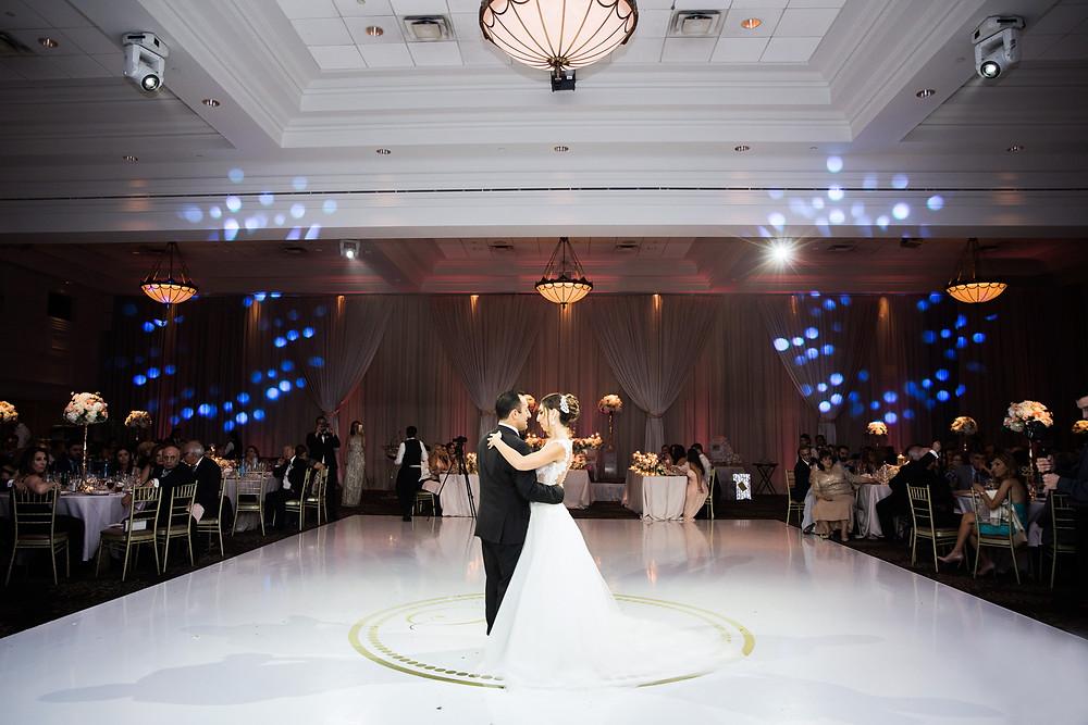first dance custom floor