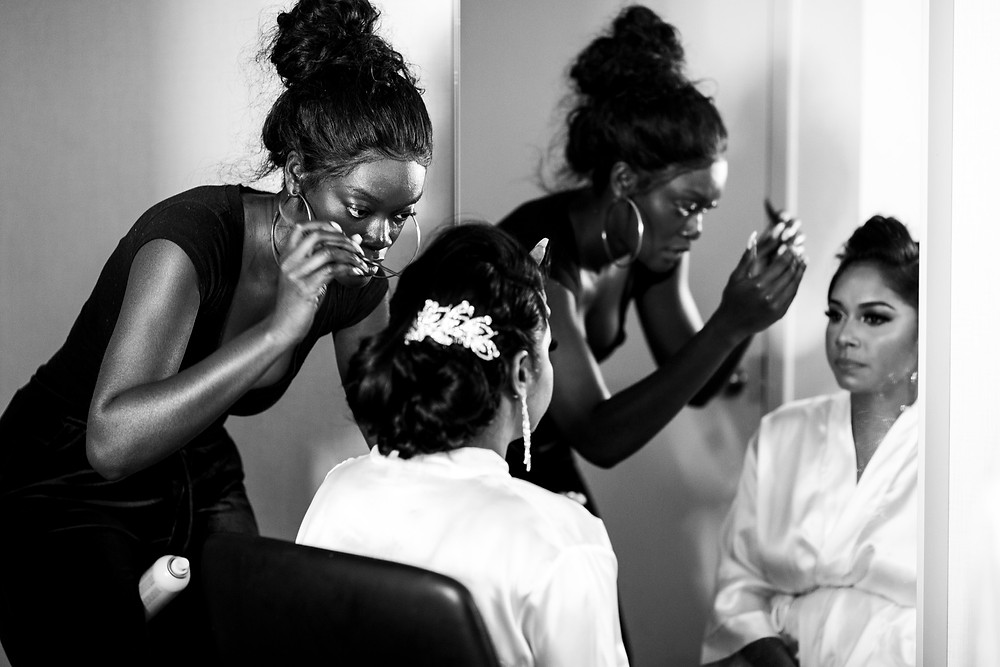 bridal hair toronto wedding