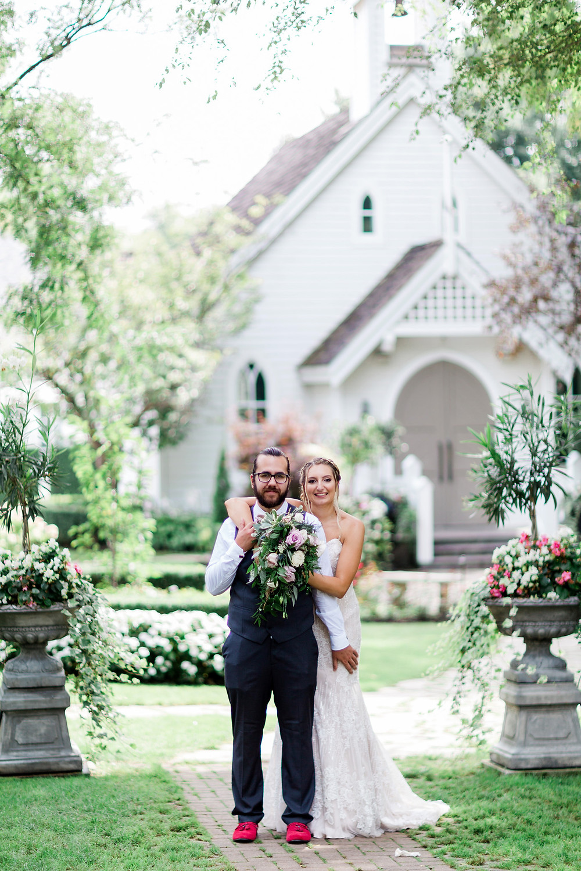 doctors house outdoor wedding photography