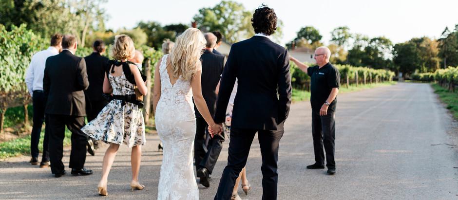 """Ravine Vineyard + Distillery District Wedding: """"Not Your Typical Wedding Day"""""""
