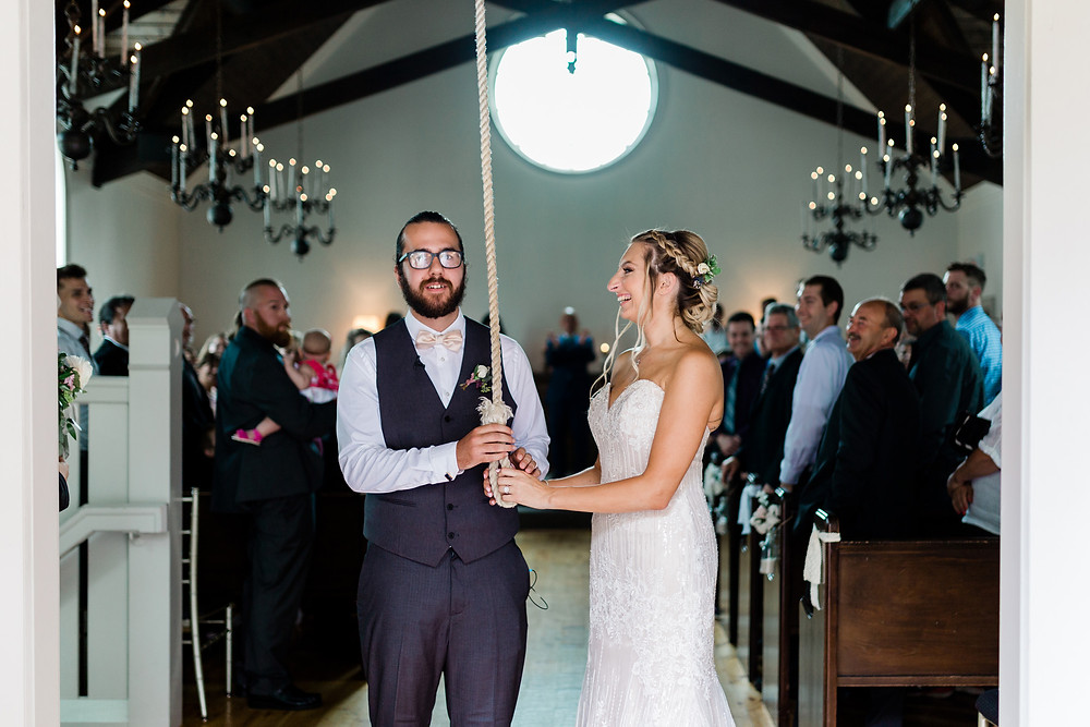 the doctors house wedding chapel bell ringing