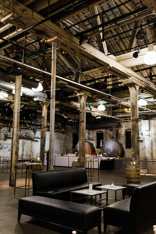 Distillery District Fermenting Cellar wedding