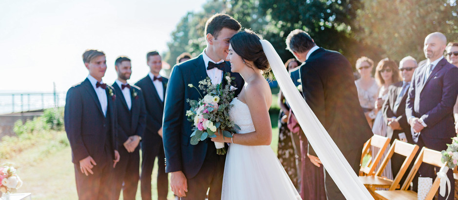 Romantic Vineyard Wedding with High School Sweethearts - Huff Estates Winery