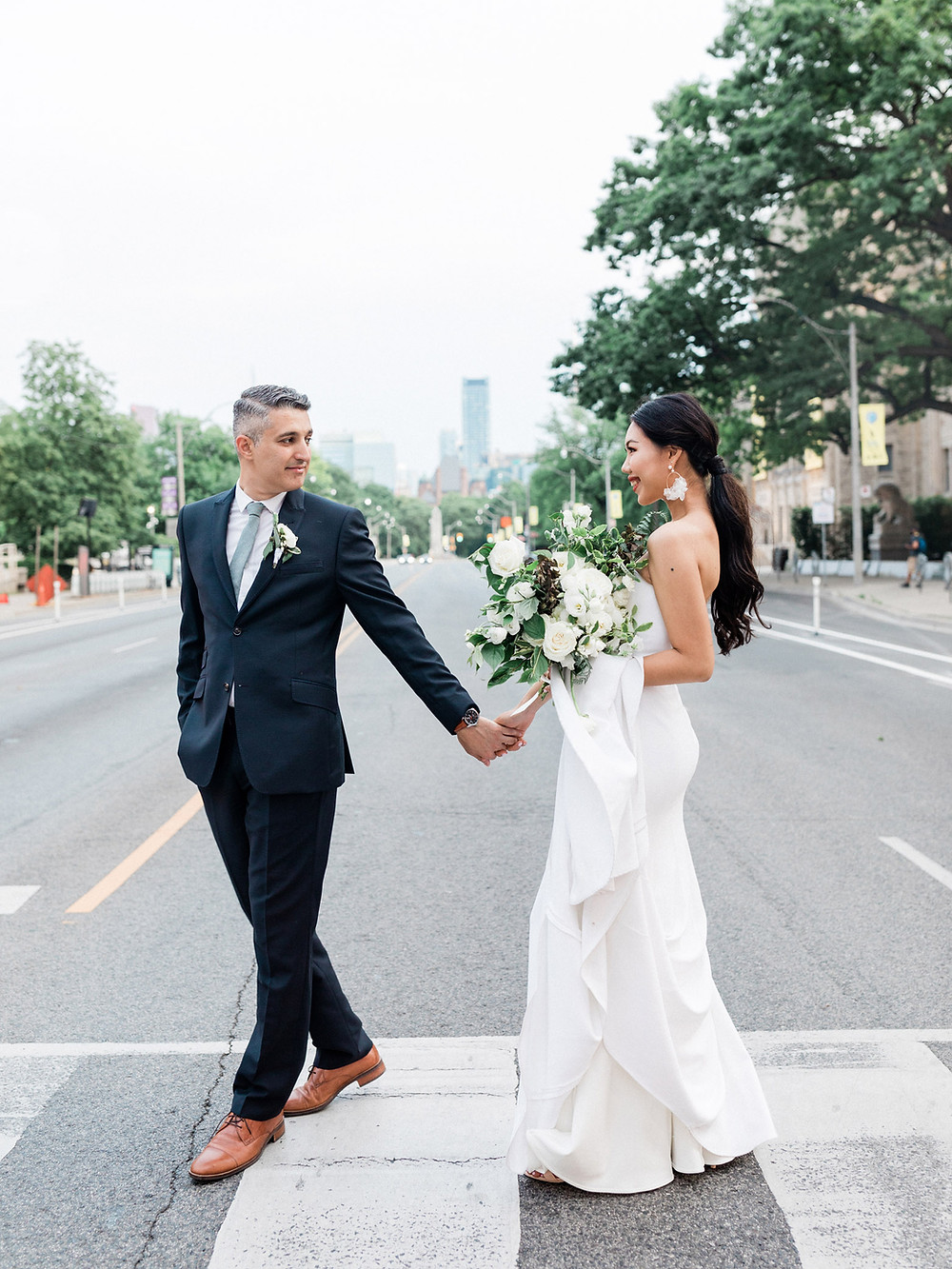 modern city elopement