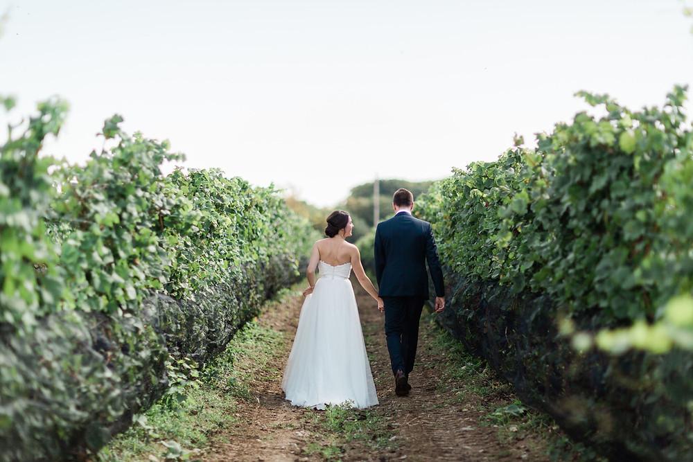 vineyard bride wedding photography huff estates winery