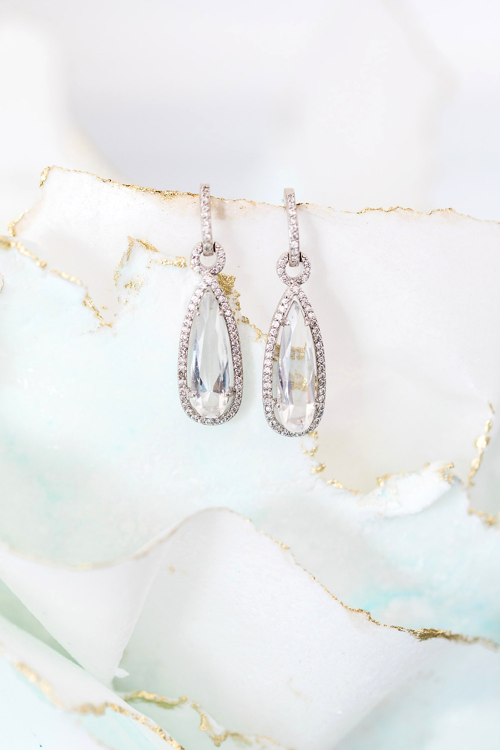 bridal earrings jewellery