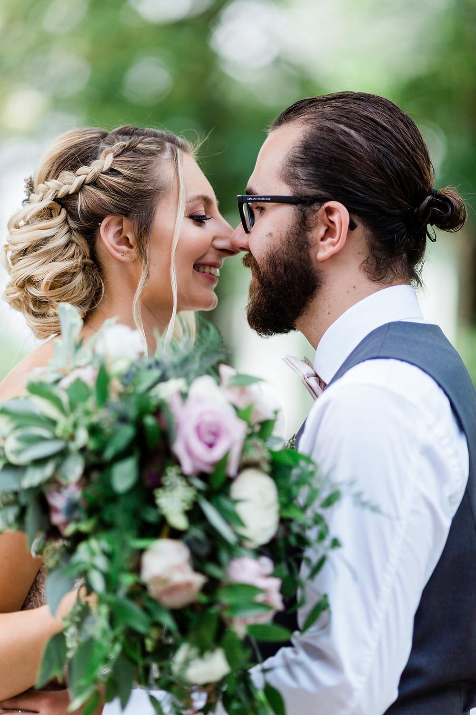 bride and groom portraiture wedding photography