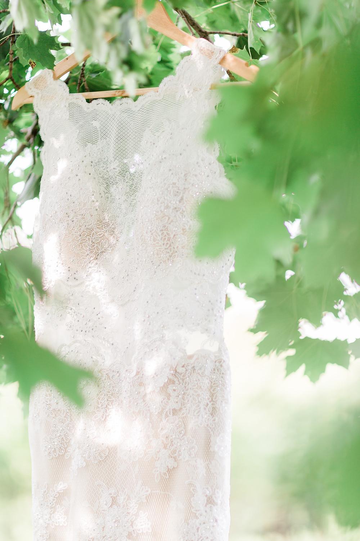 Ravine Vineyard Wedding Designer Gown