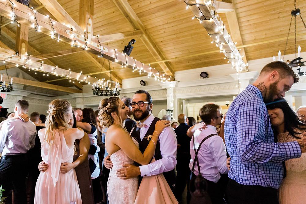 doctors house wedding garden room reception dancing