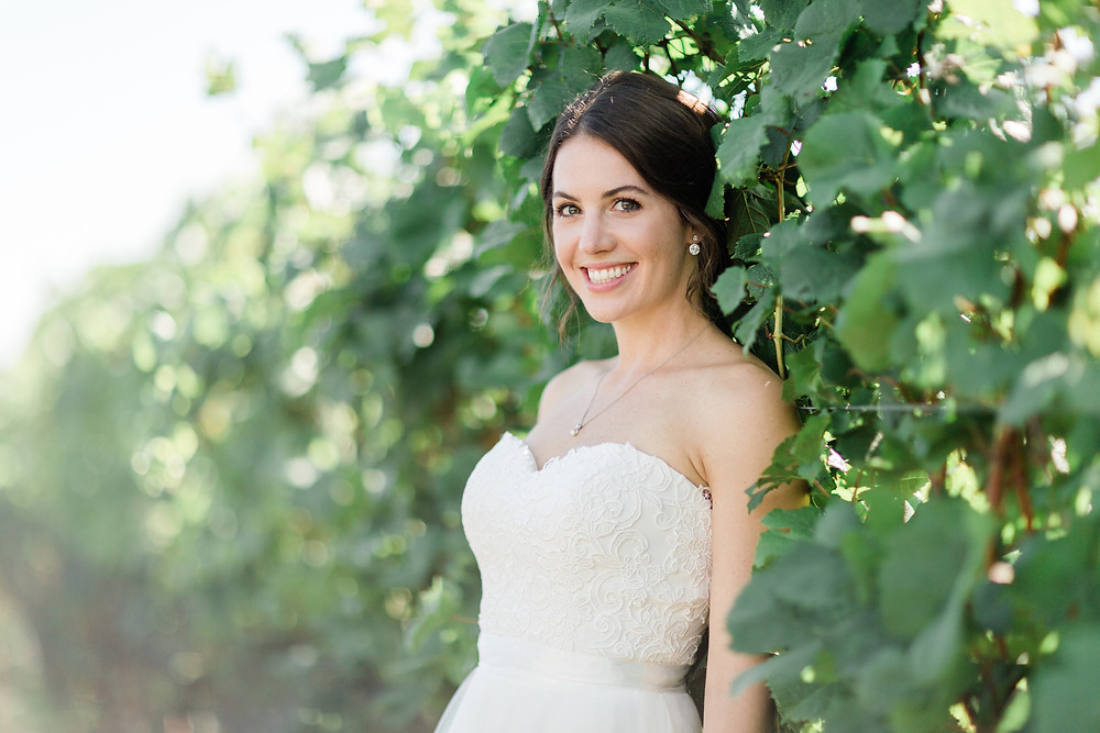 vineyard bride photography