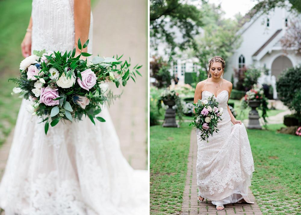 bridal bouquet doctors house wedding