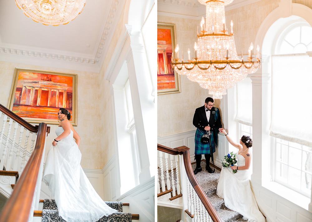 graydon hall manor indoor photoshoot