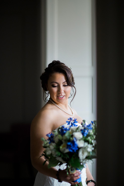 classic bridal portraiture