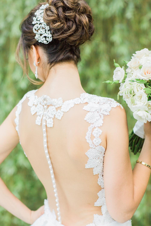 ines di santo bridal style