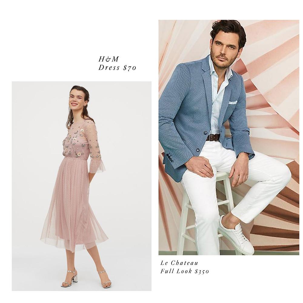 elegant engagement photo outfit dress and suit ideas