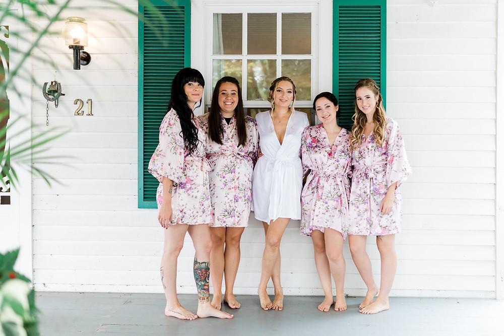 doctors house kleinburg bridal suite bridesmaids robes