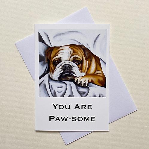 Duvet Day / Greeting Card