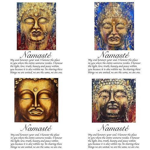 Namasté card selection / Mindfulness Card