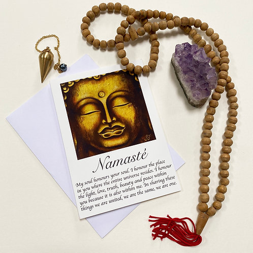 Calm / Namasté / Mindfulness Card