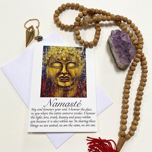 Dharma / Namasté / Mindfulness Card