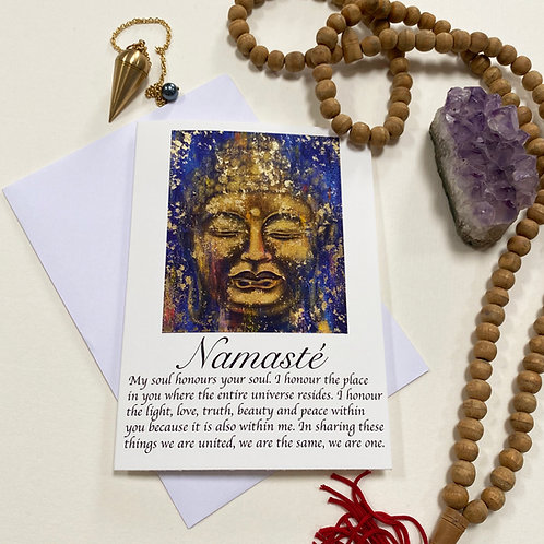 Namasté / Mindfulness Card / the Path