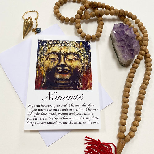 Be Fearless / Namasté / Mindfulness Card