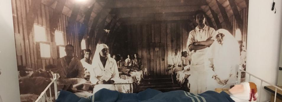 World War I Exhibition, History Museum, Ploiesti, Romania