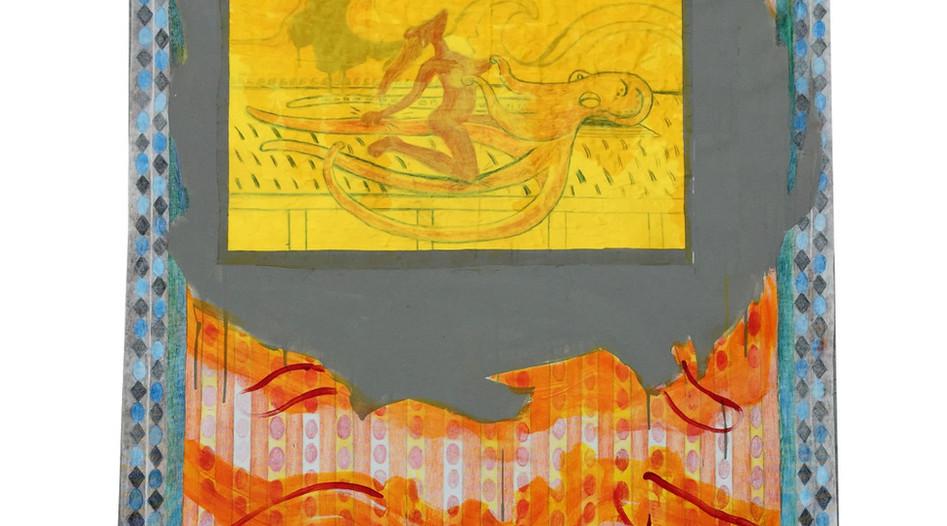 Prayer Flag I,Mirror, Takyrian Empire