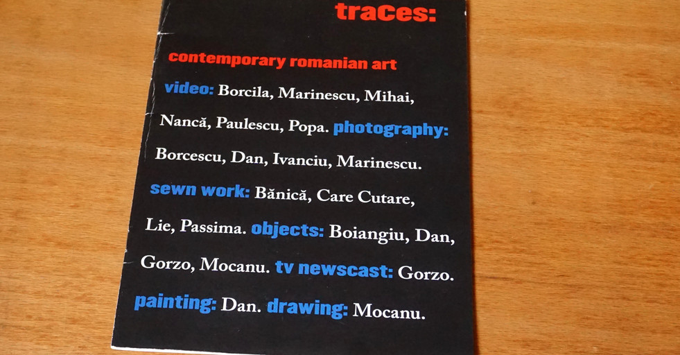 Traces: Contemporary Romanian Art, 2008