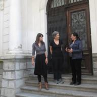 Meeting with Roxana Trestioreanu