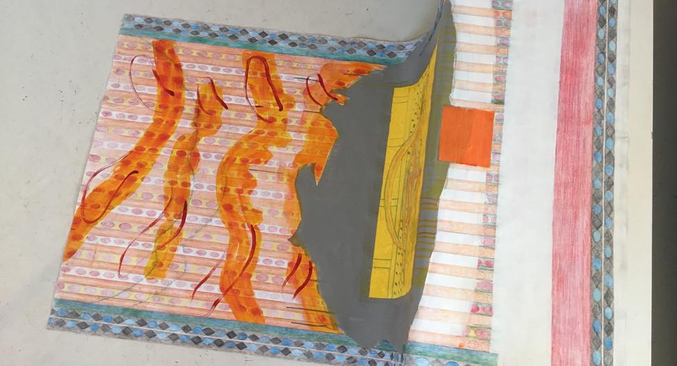 Prayer Flag I, Takyrian Empire