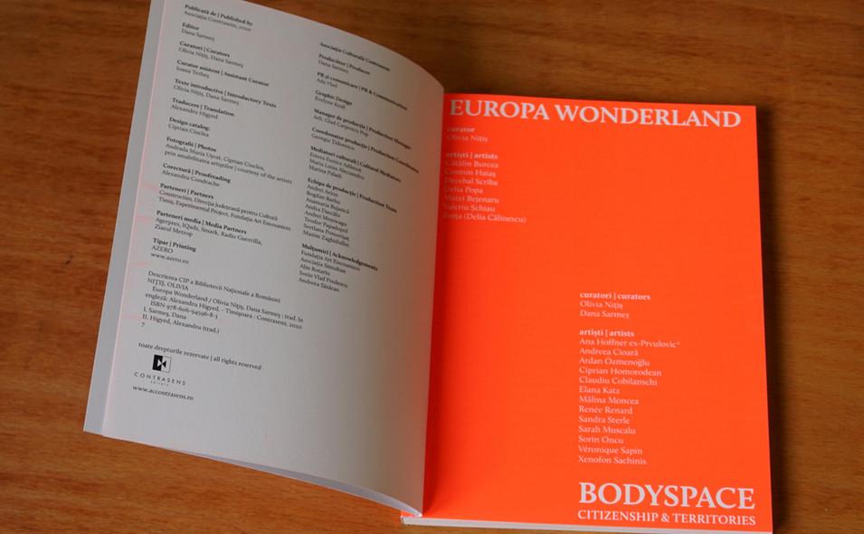Europa Wonderland/Bodyspace, Citizenship & Territories