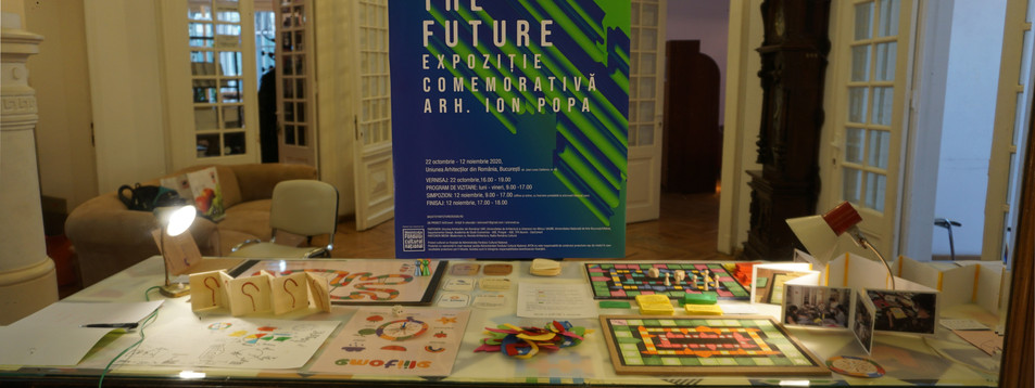 Back to the Future- Educational Games by Design and Pedagogy students, Back to the Future Summer School, Union of Architects of Romania, 2020