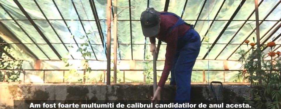 """Film still from """"Letters to a Young Gardener"""" 2020, by Delia Popa at """"Europa Wonderland"""""""