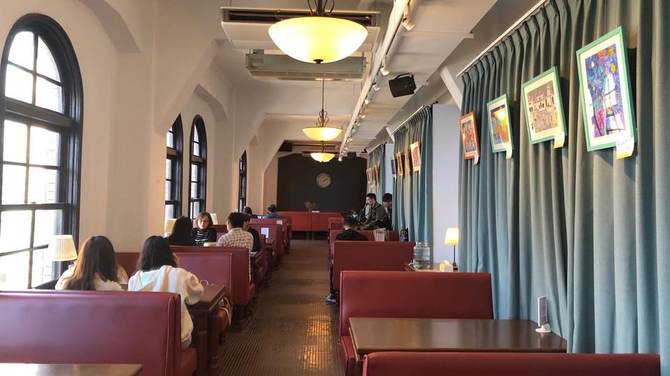 台北中山堂4F劇場咖啡廳