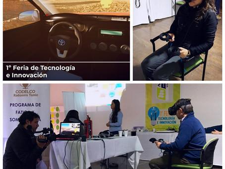 1º Feria de Tecnología e innovación, organizada por Codelco Radomiro Tomic, Calama