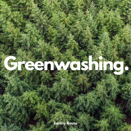 Greenwashing – Don't let it deceive you