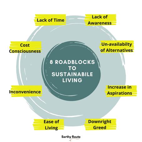 8 Roadblocks to Sustainable Living