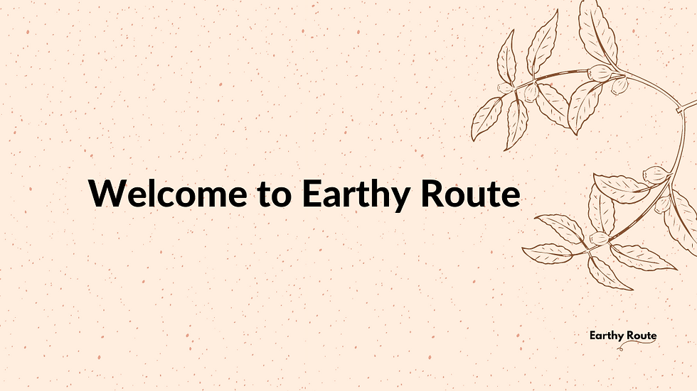 Earthy Route Banner