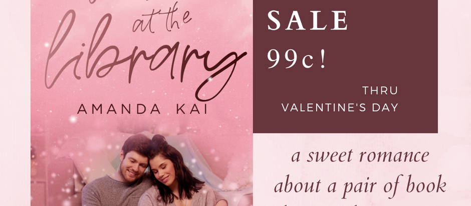 99c sale!  Love at the Library