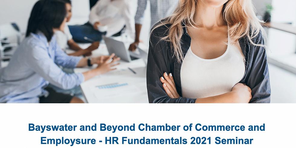 HR Fundementals Seminar 2021