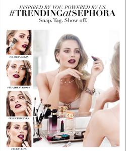 2015: #TrendingAtSephora Campaign