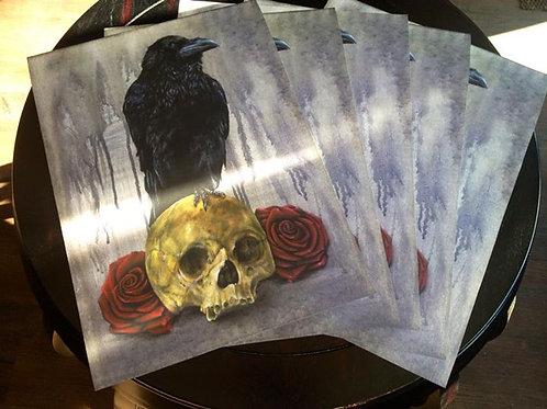 Raven Print by Jase