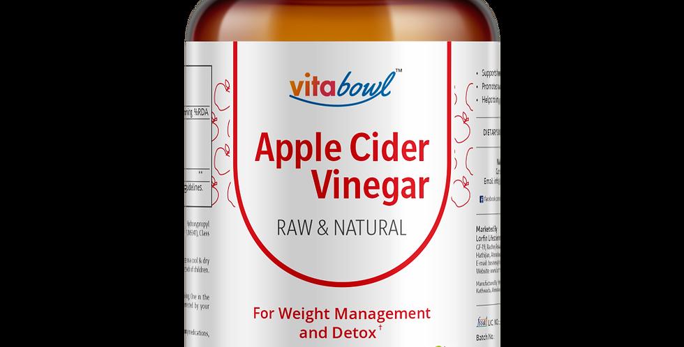 Apple Cider Vinegar Capsules | 60 Veg. Capsules
