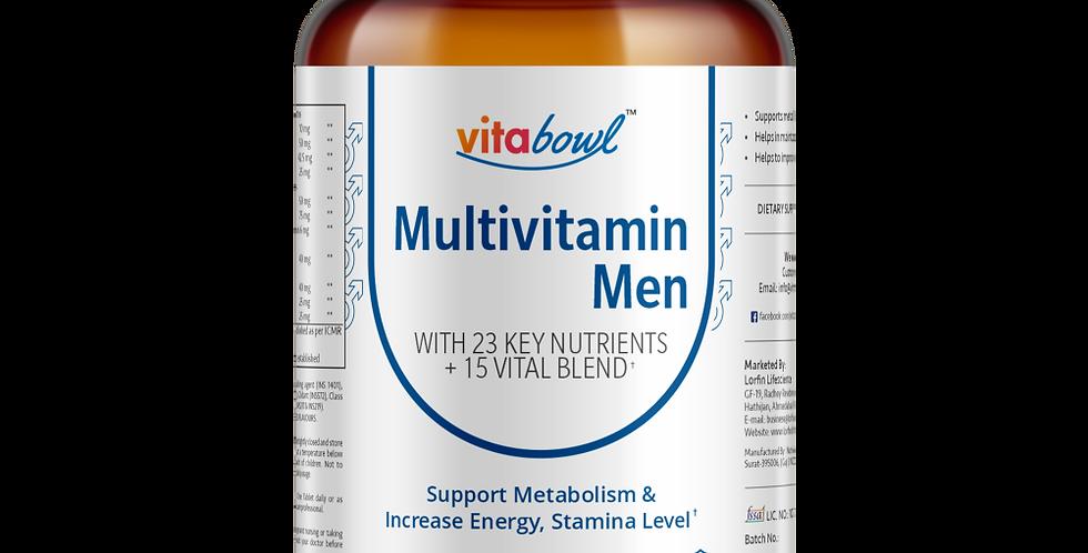 Multivitamin Men Tablets | 60 Veg. Tablets