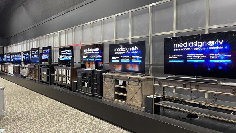 MediaSign TV Wall