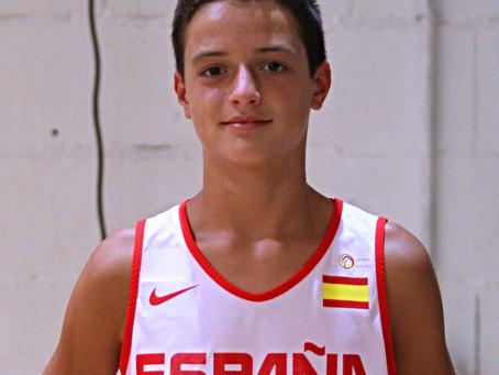 Juan José Castro convocado con la Selección Española U13