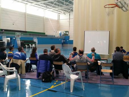 El curso de entrenadores de nivel 2 a punto de concluir en Gelves.